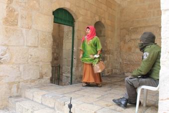 Tentara Israel berjaga di setiap sudut Al-Aqsha