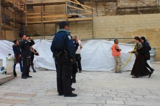 Tentara Israel di Tembok Ratapan